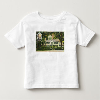 View of Hawthorne's Wayside Residence Toddler T-shirt