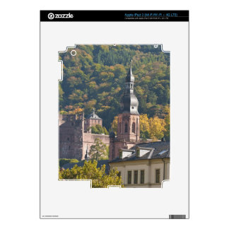 View of Heidelberg's Old Town 2 Decal For iPad 3