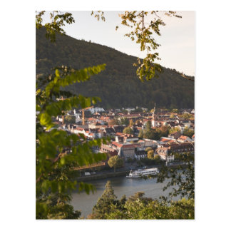 View of Heidelberg's Old Town Postcard