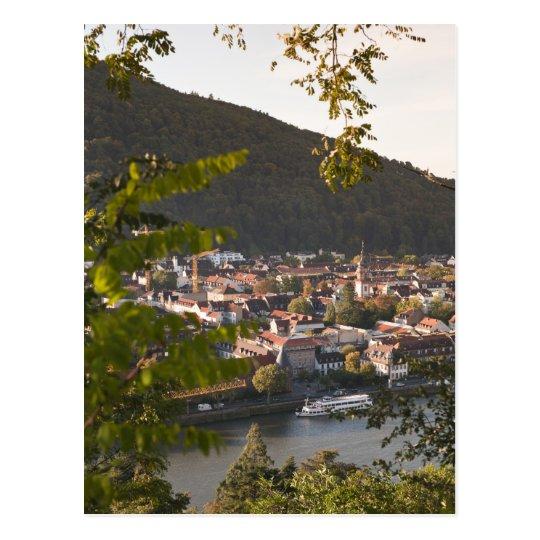 View of Heidelberg's Old Town Postcard