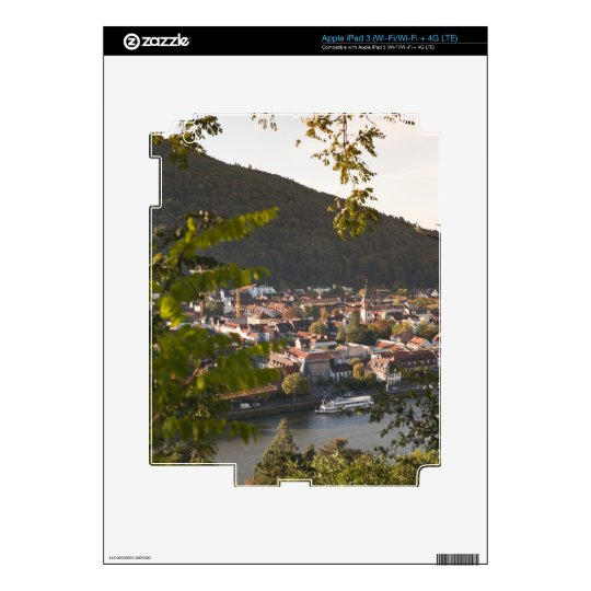 View of Heidelberg's Old Town Skins For iPad 3