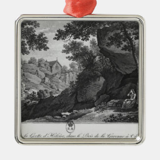 View of Heloise grotto the park La Garenne Metal Ornament