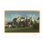View of Herbert Hoover's Home, Stanford U. Postcard