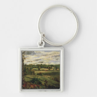 View of Highgate from Hampstead Heath, c.1834 Key Chains