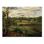 View of Highgate from Hampstead Heath, c.1834 Postcard