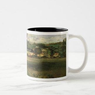 View of Highgate from Hampstead Heath, c.1834 Two-Tone Coffee Mug