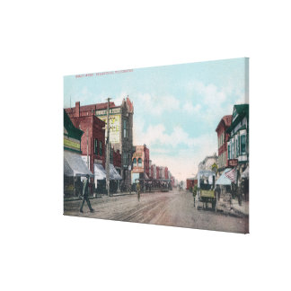 View of Holly StreetBellingham, WA Canvas Print