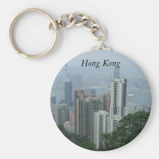 View of Hong Kong From The Peak Keychain
