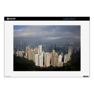 View of Hong Kong from The Peak Laptop Skin