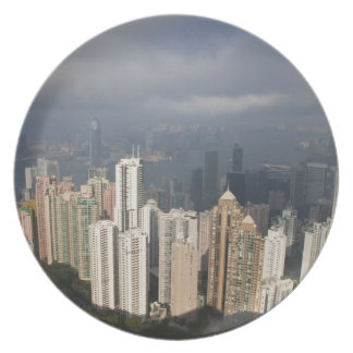 View of Hong Kong from The Peak Plate