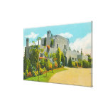View of Hoover's Home, Stanford U Campus Canvas Print