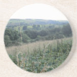 View of Hope Valley, Derbyshire Dales Drink Coaster