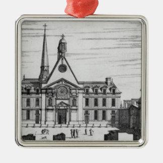 View of Hopital des Incurables Metal Ornament