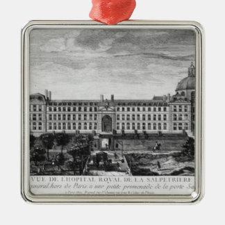 View of Hopital Royal de La Salpetriere Metal Ornament