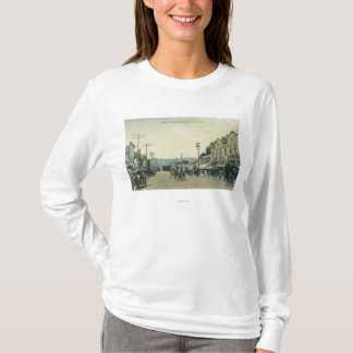View of Horse Carriages on Castro Street T-Shirt