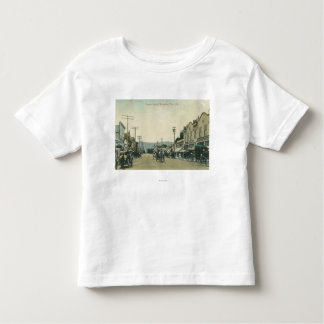 View of Horse Carriages on Castro Street Toddler T-shirt