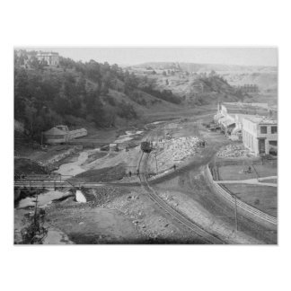 View of Hot Springs, SD Photograph Posters