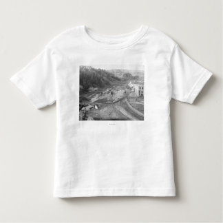 View of Hot Springs, SD Photograph Toddler T-shirt