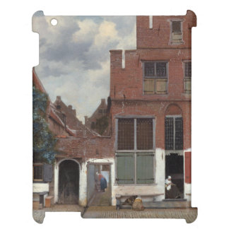 View of houses in Delft by Johannes Vermeer iPad Case