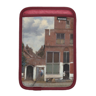 View of houses in Delft by Johannes Vermeer Sleeve For iPad Mini