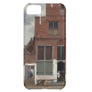 View of houses in Delft by Johannes Vermeer iPhone 5C Case
