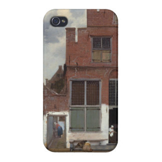 View of houses in Delft by Johannes Vermeer Case For iPhone 4