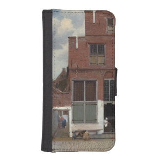 View of houses in Delft by Johannes Vermeer iPhone SE/5/5s Wallet