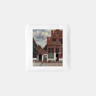View of houses in Delft by Johannes Vermeer Reusable Bag