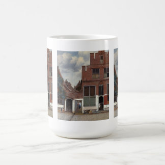View of houses in Delft The Little Street Classic White Coffee Mug