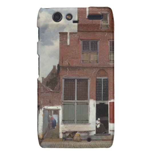View of houses in Delft The Little Street Droid RAZR Cover