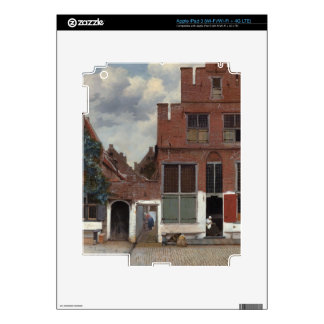View of houses in Delft The Little Street iPad 3 Skin
