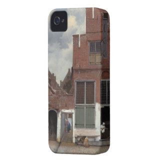View of houses in Delft The Little Street iPhone 4 Case