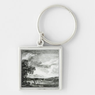 View of Hudson's River of Pakepsey Keychain