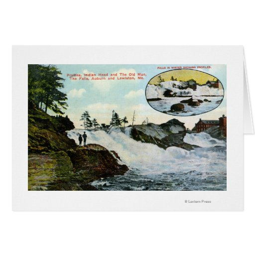 View of Indian Head, the Old Man Card