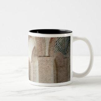 View of interior Two-Tone coffee mug