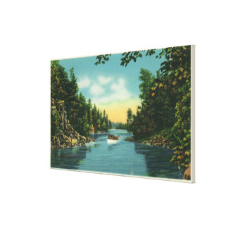 View of International Rift Canvas Print
