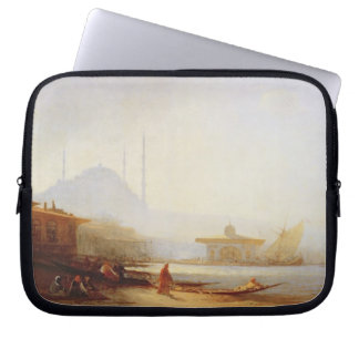 View of Istanbul, 1864 (oil on canvas) Laptop Sleeve
