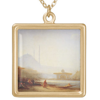 View of Istanbul, 1864 (oil on canvas) Necklaces
