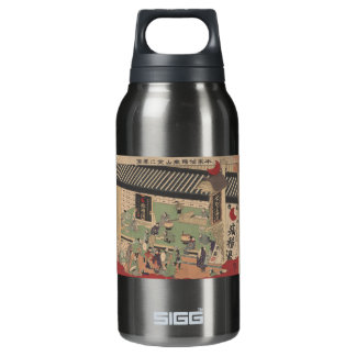 View of Japanese Pharmacy Insulated Water Bottle