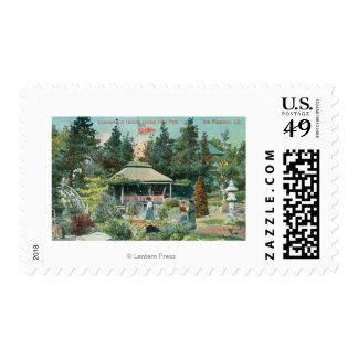 View of Japanese Tea Garden Postage