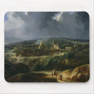 View of Jerusalem from the Valley of Jehoshaphat Mouse Pad