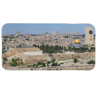 View of Jerusalem Old City, Israel Barely There iPhone 6 Plus Case
