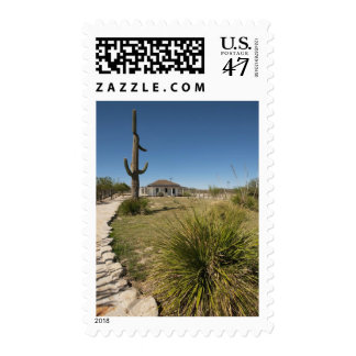 View of Judge Roy Bean Residence, Opera House Postage Stamp