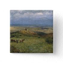 View of Kronberg in Taunus, Germany, 1879 Button