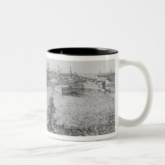 View of La Rochelle Two-Tone Coffee Mug