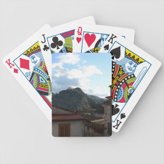 View Of Laino Castello Bicycle Playing Cards