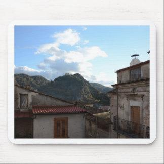 View Of Laino Castello Mouse Pad