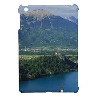 View of Lake Bled from Mala Osojnica iPad Mini Cover