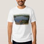 View of Lake Edge Drive Near Dam T-Shirt