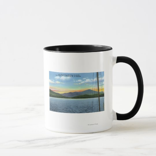 View of Lake from Whiteface Inn Dock Mug
